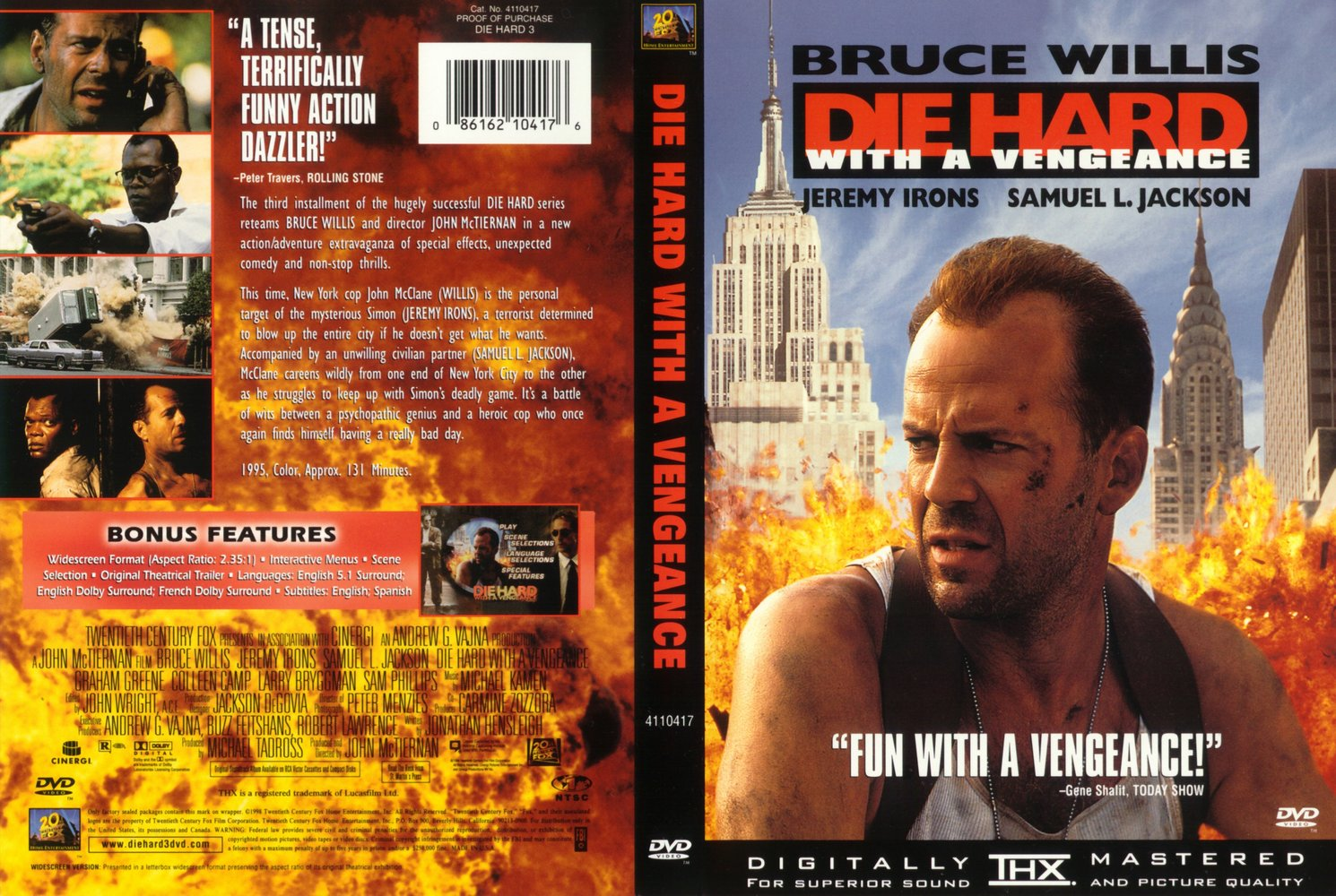 a critical review of the die hard trilogy And accomplishes none of those things this game die hard trilogy (playstation) review.